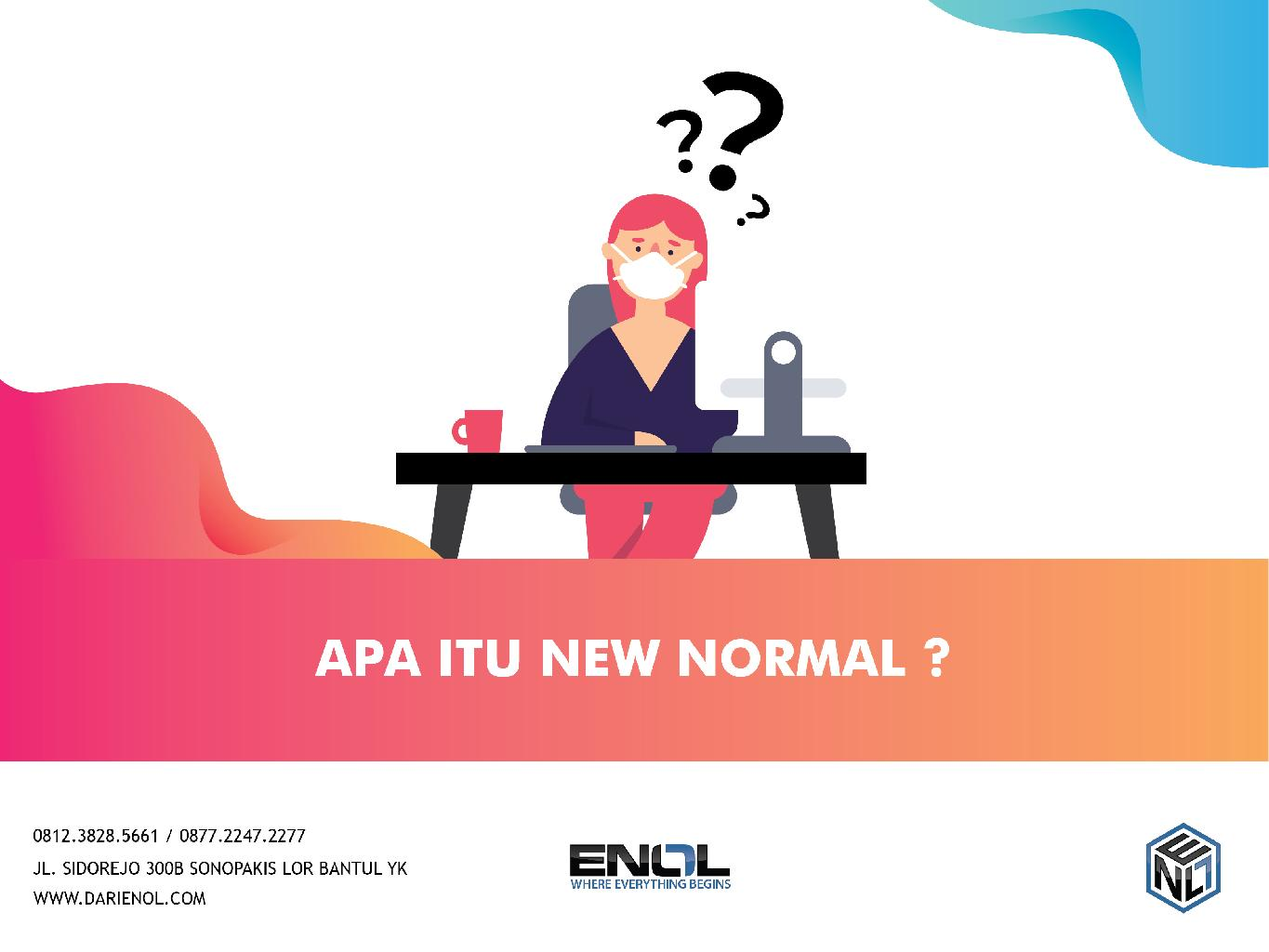 Apa Itu New Normal