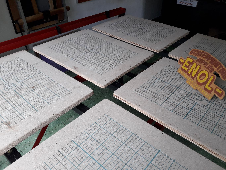 Langkah-langkah Pemakaian Meja Sablon Rell