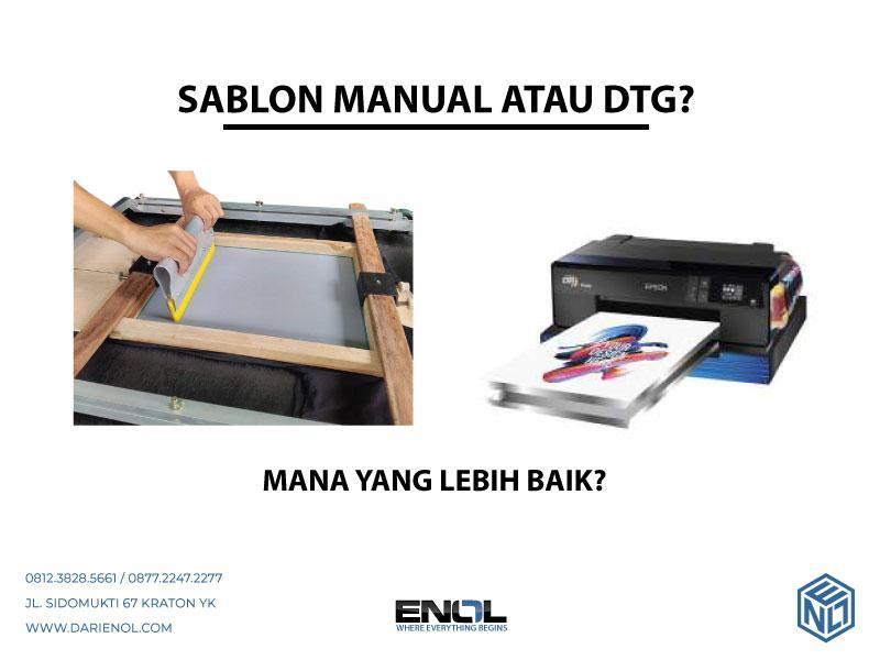Sablon Manual atau DTG (?)