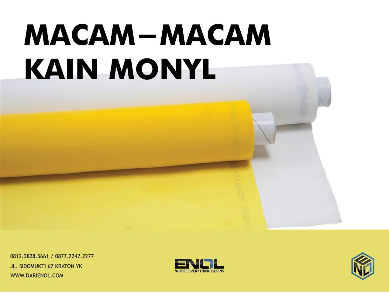 MACAM - MACAM KAIN MONYL