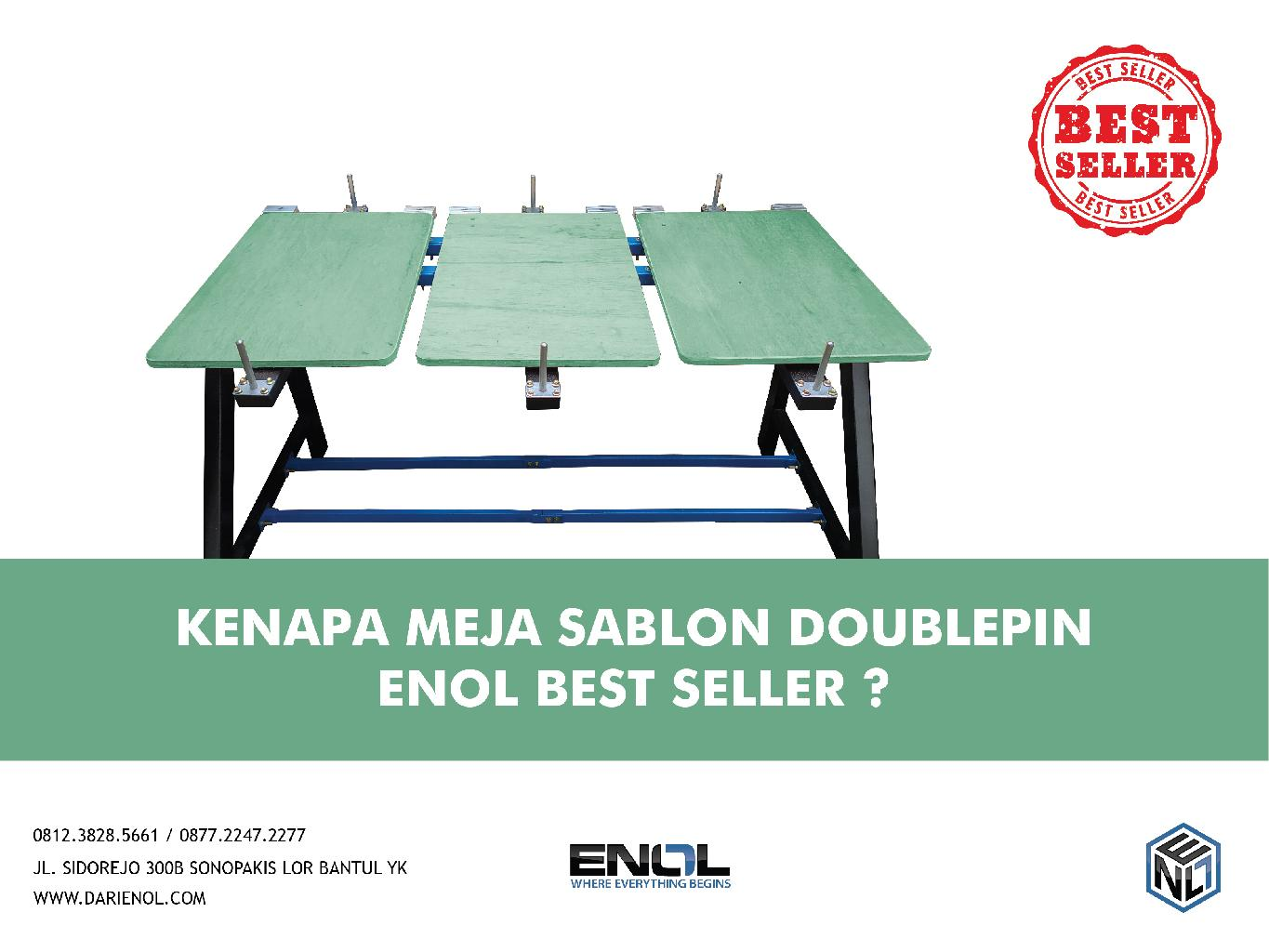 Kenapa Meja Double Pin Enol Best Seller