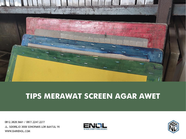 Tips Merawat Screen Agar Awet
