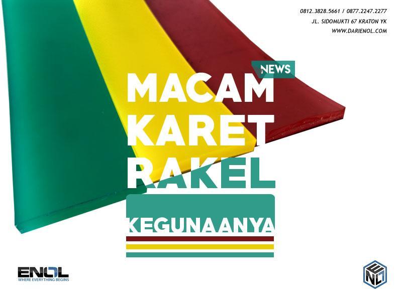 MACAM-MACAM KARET RAKEL SABLON
