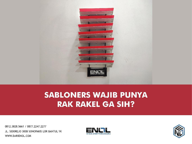 Sabloners Wajib Punya Rak Rakel Engga Sih??