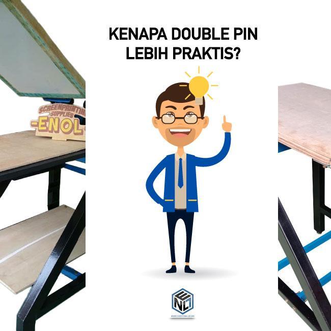 Kenapa Harus Beralih Ke Meja Double Pin Praktis?
