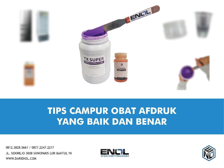 Tips yang Baik dan Benar Dalam Mencampur Obat Afdruk