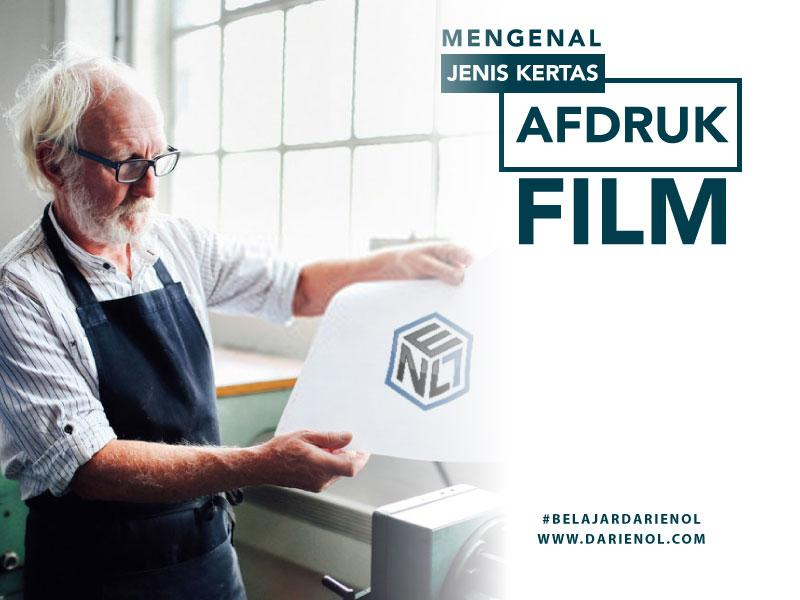 Mengenal Jenis Kertas untuk Afdruk Film Sablon
