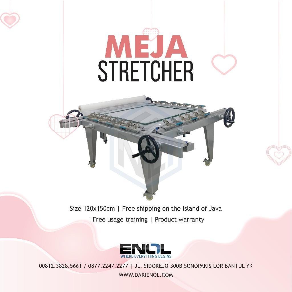 Meja/Mesin Stretcher