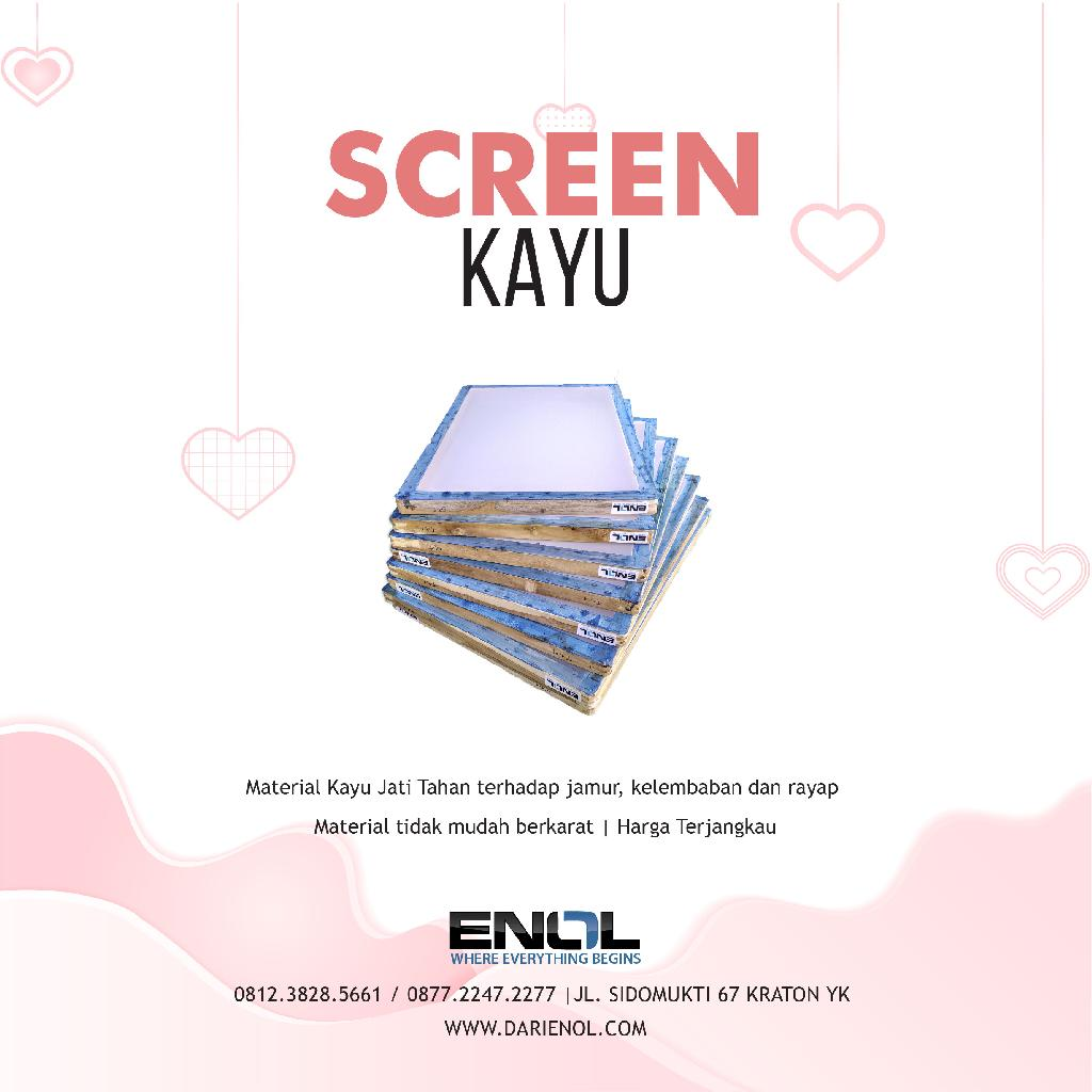 Screen Kayu