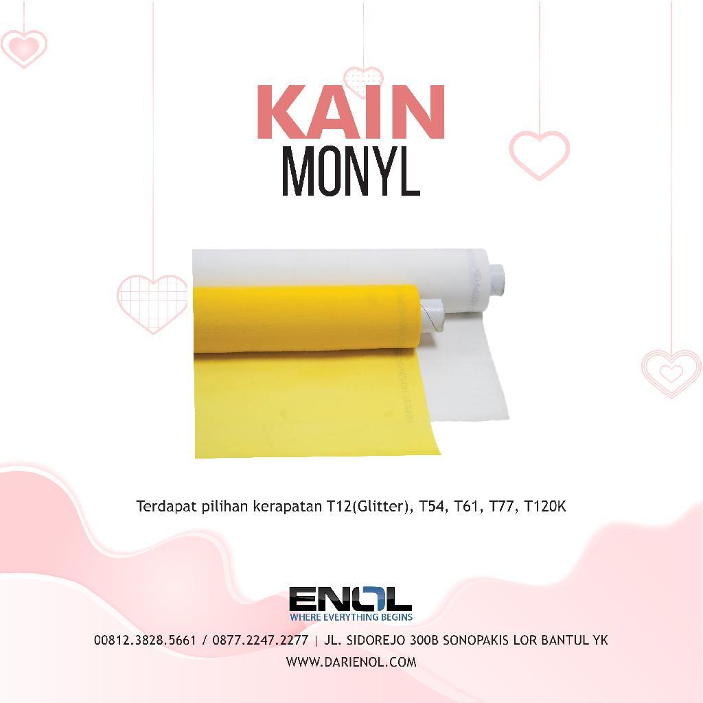 Kain Monyl T54 Putih