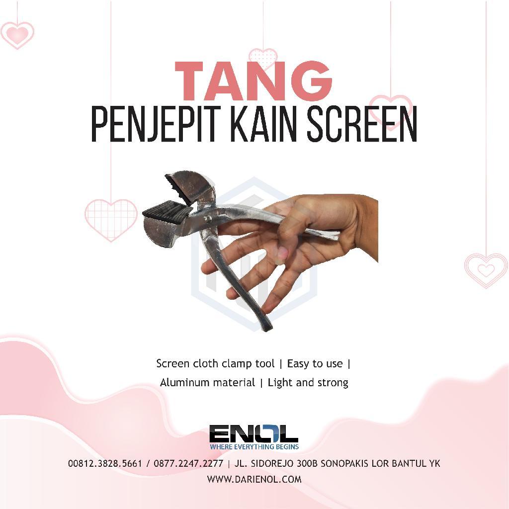 Tang Penjepit Kain Screen