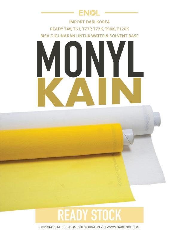 Kain Monyl T120 Kuning